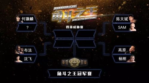 King-of-Pro-Wrestling-KOPW-Championship-Tournament-brackets-graphic
